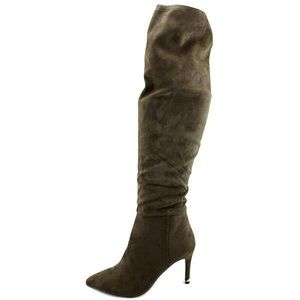 Over the knee boot -brown